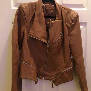 NWT Blank NYC leather jacket